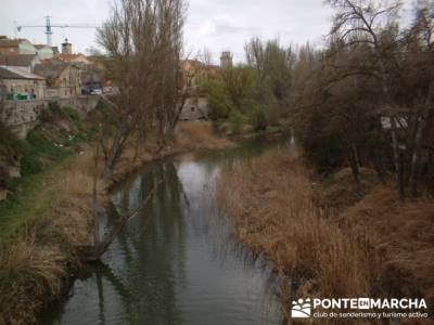 Ribera del Duero - Aranda de Duero - Bodega de las Ánimas; senderismo; asociaciones senderismo